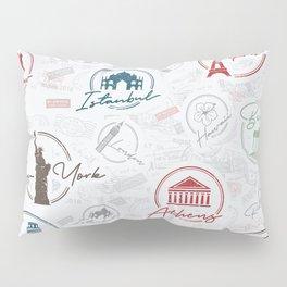 Travel lovers Pillow Sham