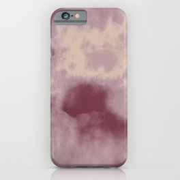 You Don't Choose Who You Fall In Love With - Wolf of Wall Street Watercolor Texture Pattern iPhone Case
