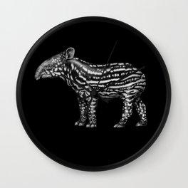 Tapir Wall Clock