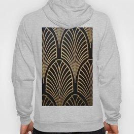 Art nouveau Black,bronze,gold,art deco,vintage,elegant,chic,belle époque Hoodie
