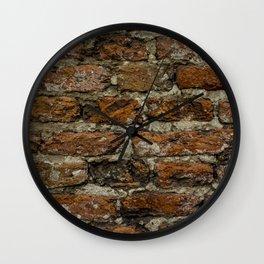 Bricks in the wall Wall Clock