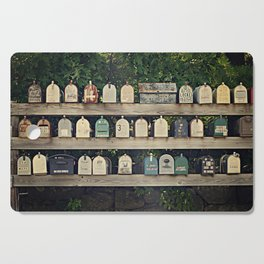Mailboxes Cutting Board