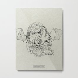 CTHULATHON: 67 Metal Print