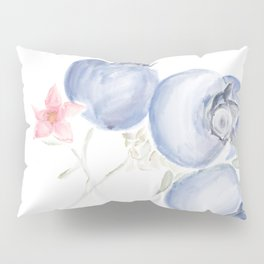 Red White & Blues ・Rustic Blueberries Pillow Sham