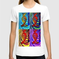 dna T-shirts featuring DNA by Art By Carob