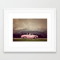 never stop exploring Framed Art Prints featuring NEVER STOP EXPLORING VII by Monika Strigel