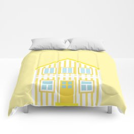 Yellow Costa Nova House Comforters