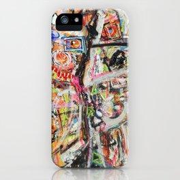 Les Demoiselles d'Bushwick iPhone Case
