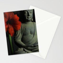 Amaryllis Buddha Stationery Cards