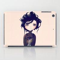 nan lawson iPad Cases featuring Edward by Nan Lawson