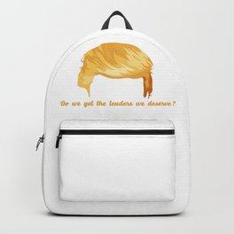 Do We Get the Leaders We Deserve Backpack