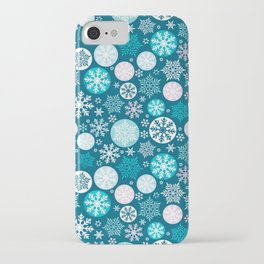 Magical snowflakes IV iPhone Case