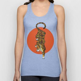The Traditional Tiger Unisex Tanktop