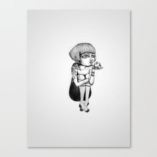 Princess & Frog Canvas Print
