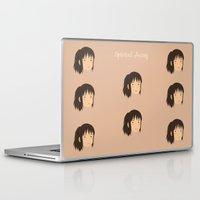 chihiro Laptop & iPad Skins featuring Spirited Away Chihiro by bonieiji