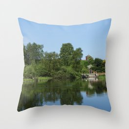 The Anglesey Branch Throw Pillow