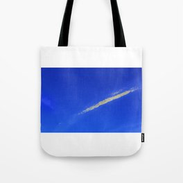 Flash of gold in the sky Tote Bag