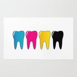CMYK tooth Rug