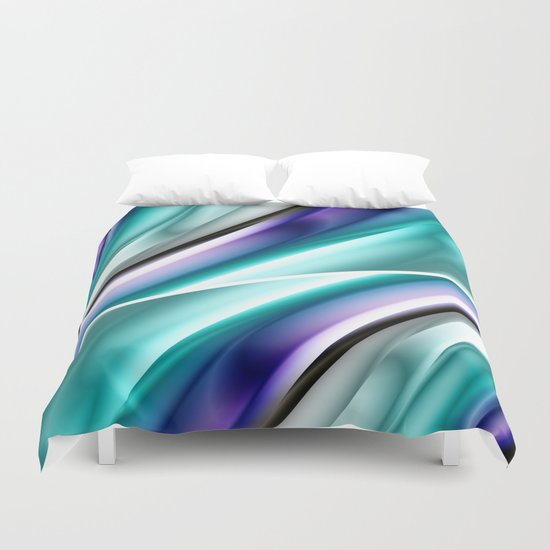 Color gradient 17 Duvet Cover