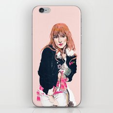Oliva Wilde iPhone & iPod Skin