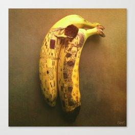 The Kiss (Banana Lovers)  Canvas Print