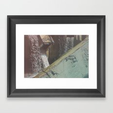 Water Cubes Framed Art Print