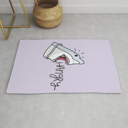 Lady's hunger Rug