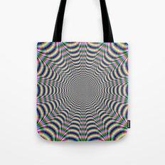 Psychedelic Web Tote Bag