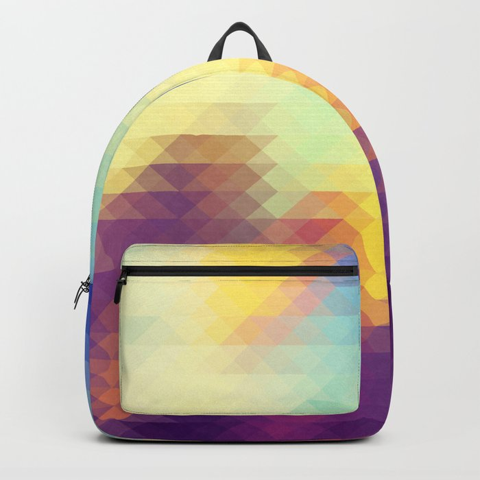 Triangle design Backpack