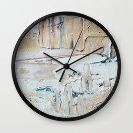 light on white Wall Clock