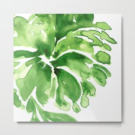 Abstract floral & square #12 Metal Print