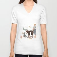 stay gold V-neck T-shirts featuring Stay Gold by Heather Landis