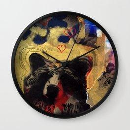 Bear Love Wall Clock