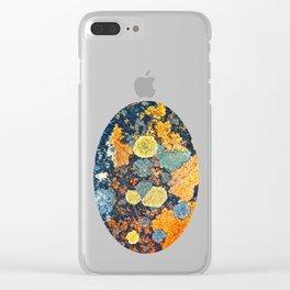 Lichen Art Clear iPhone Case