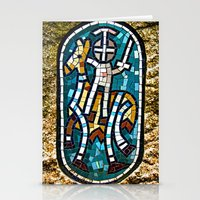 knight Stationery Cards featuring knight by Doug McRae