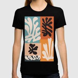 Bohemian Floral Art Print on Canvas, Modern, Contemporary, Pop Art, Large Wall Art, Floral Blooming T-shirt