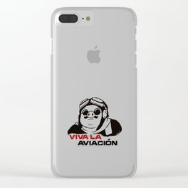 Viva la aviacion Clear iPhone Case