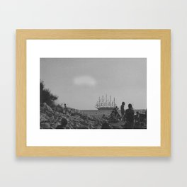 boat2 Framed Art Print