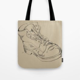 Art Study (the boot part 2) Tote Bag
