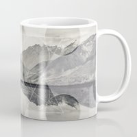 sacred geometry Mugs featuring Sacred by Jemma Pope