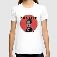 charlie T-shirts featuring Charlie by Todd A. Winter