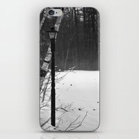 narnia iPhone & iPod Skins featuring Welcome to Narnia by Kristina McComb