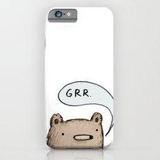 Growling Bear iPhone 6s Slim Case