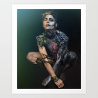 peter pan Art Prints featuring Peter Pan by Art By Brandon McGill