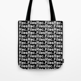 Files Rec Pattern Tote Bag