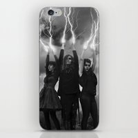 coven iPhone & iPod Skins featuring coven by tadzioautumn