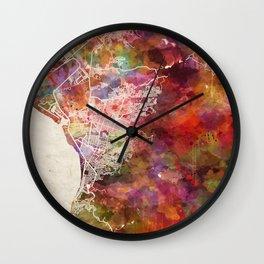 Puerto Vallarta map Wall Clock