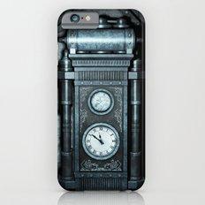 Silver Steampunk Generator Machine Slim Case iPhone 6s