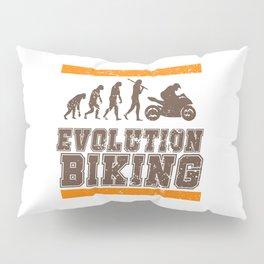 Evolution Biking | Motorcycle Street Speed Pillow Sham