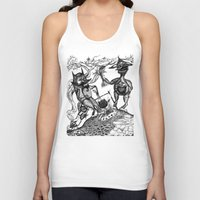 wild things Tank Tops featuring Wild Things by intermittentdreamscapes